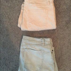 LOFT Jeans - Pair of 2